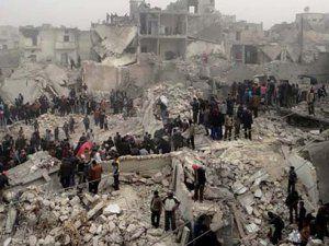 Rusya Suriye'deki Hava Saldırılarında 403 Sivili Öldürdü!