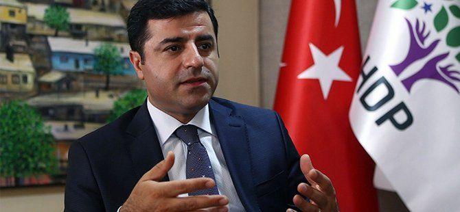 HDP Eş Genel Başkanı Selahattin Demirtaş Hakkında 'Hendek' Soruşturması