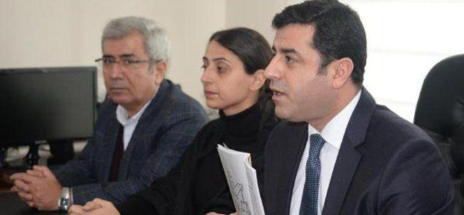 HDP Eş Genel Başkanı Selahattin Demirtaş: İptal Edilen Görüşme Yeniden Gündeme Alınmalı
