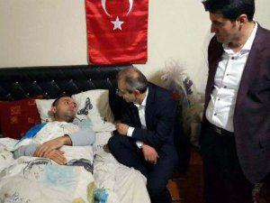 Cizre'de yaralanan Uzman Çavuş Ali Sarı; Sabırsızlıkla Dönmeyi Bekliyorum