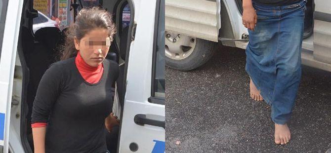 Suriyeli 13 Yaşındaki Kız Çocuğu Çıplak Ayakla 10 Kilometre Yürüyüp Polise Sığındı