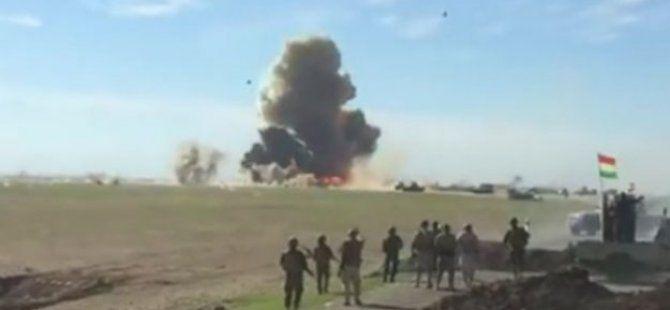 Terör Örgütü IŞİD'in Bomba Yüklü Aracı Böyle İmha Edildi