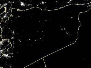 Suriye Genelinde Elektrikler Kesildi