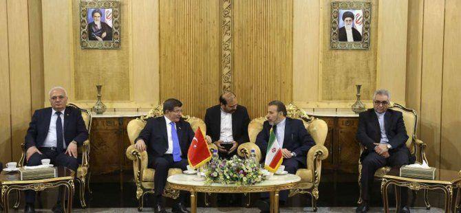 Davutoğlu' ndan İran' dan Suriye Mesajı