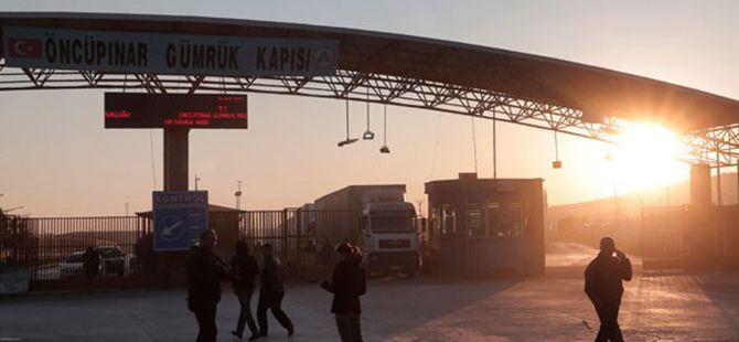 Kilis Öncüpınar Sınır Kapısı'nda TNT Kalıpları Ele Geçirildi