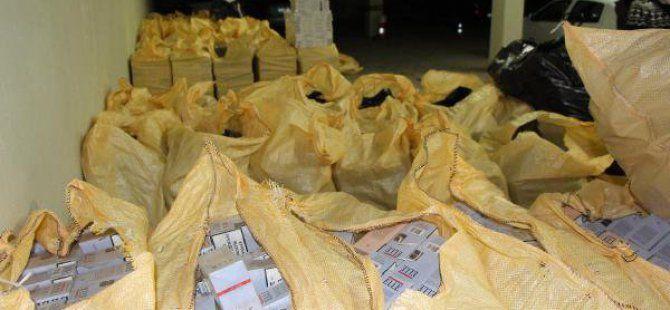 Bolu TEM Otoyolu'nda Kaçak Sigara Operasyonu