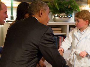 Obama'yı Bornozla Karşılayan Prens George'un Bornozu Denizli'den