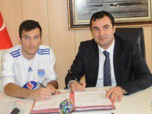 Gaziantep Büyükşehir Belediyespor Nenad Marinkovic ile Sözleşme İmzaladı