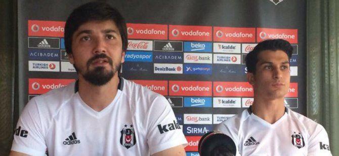 Beşiktaş'ın Kaptanları Avusturya Kampında Basın Toplantısı Düzenledi