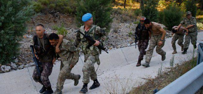 Cumhurbaşkanı Erdoğan'a Suikast İçin Marmaris'e Giden Askerlerden 7'si Yakalandı