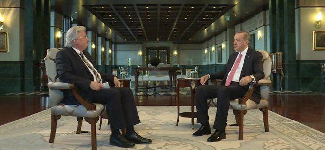 Cumhurbaşkanı Erdoğan Alman ARD Televizyonuna Konuştu