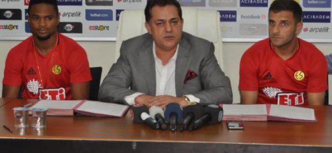 Bilal Aziz ve Ofoedu Eskişehirspor'a Transfer Oldu