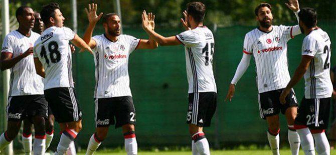 Beşiktaş Hazırlık Maçında Eibar'ı 3-0 Mağlup Etti