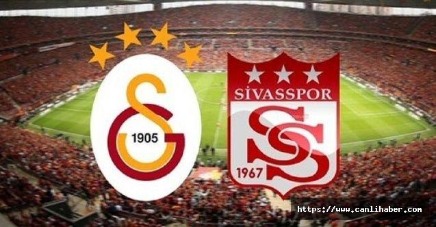 Galatasaray Sivasspor'u Devirdi 3 - 2