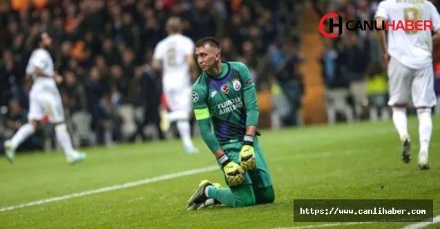 Galatasaray'ın kalecisi Muslera Real Madrid maçından sonra isyan etti