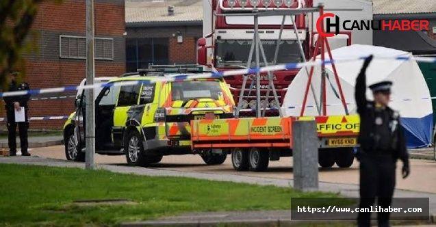 İngiliz polisi TIR'da 39 ölü buldu