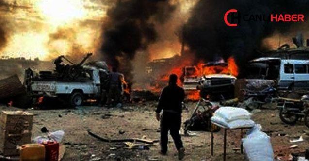 PKK/YPG terör örgütü Tel Halef köyüne bombalı araçla saldırdı
