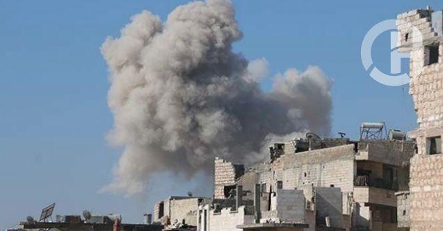 Rus savaş uçakları idlib'i bombaladı 26 ölü var