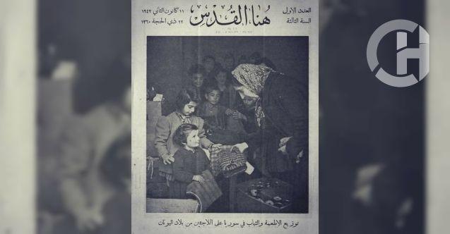 Tarih unutmuyor Suriyeliler 80 yıl önce Yunanistan'a böyle sahip çıktı