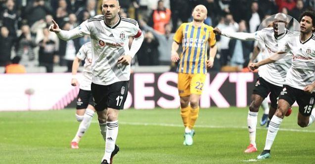 Haftanın açılış maçında kazanan Beşiktaş