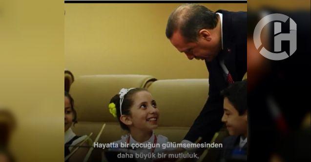 Cumhurbaşkanı Erdoğan kendi sesinden 23 Nisan mesajı yayınladı