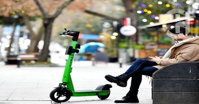 İBB Düğmeye Bastı Elektrikli Scooterlara Plaka da Yolda