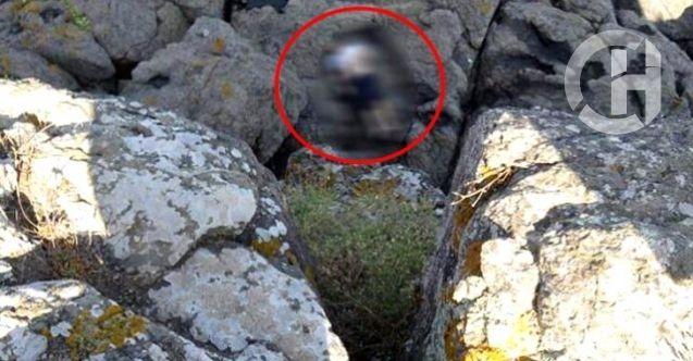 Kampa giden gencin cansız bedeni sabah saatlerinde kayalıklarda bulundu