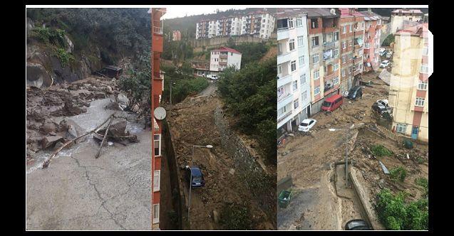 Giresun'da sel felaketinin bilançosu çok ağır! 4 ölü, 11 kayıp