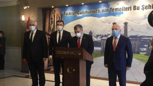 Sağlık Bakanı Erzurum