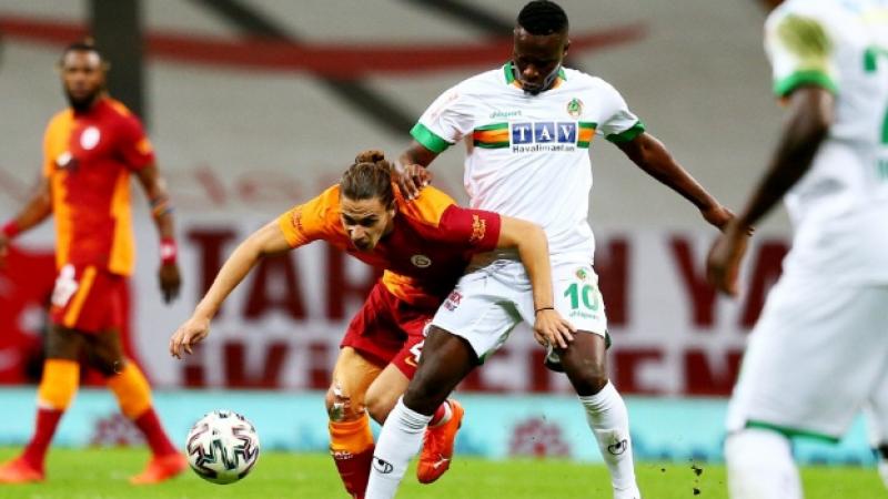 Galatasaray 90+5'te yıkıldı Galatasaray 1-2 Alanyaspor