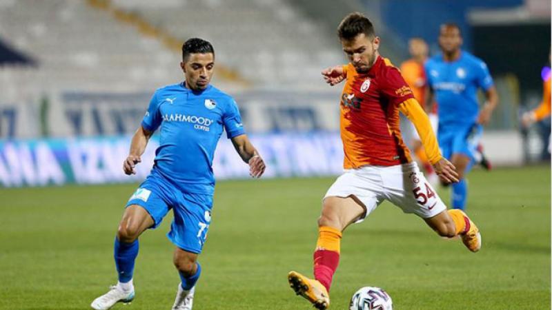 Galatasaray Erzurum'da moral buldu Erzurumspor - Galatasaray: 1-2