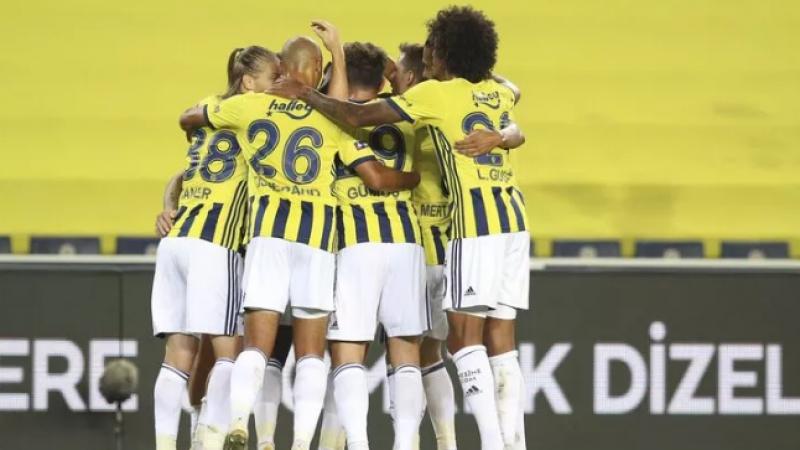 Dev maçta kazanan Fenerbahçe Fenerbahçe - Trabzonspor: 3-1