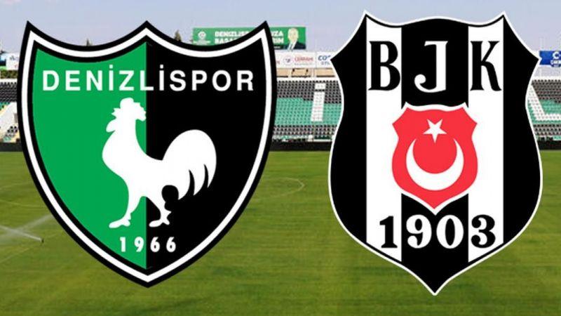 Beşiktaş galibiyeti 3 golle aldı Denizlispor 2-3 Beşiktaş