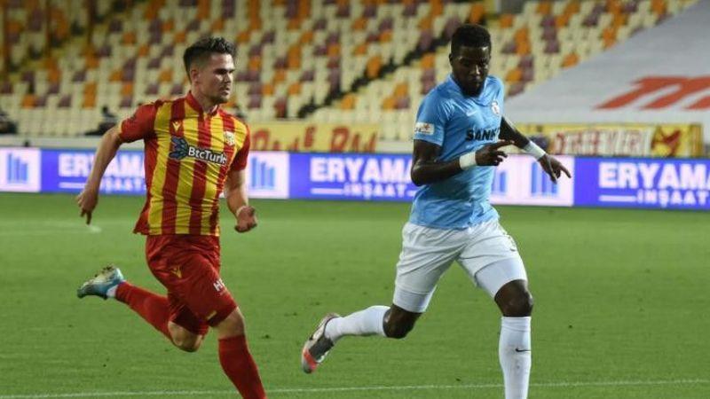 Antep'te puanlar paylaşıldı Gaziantep FK - Yeni Malatyaspor : 2-2