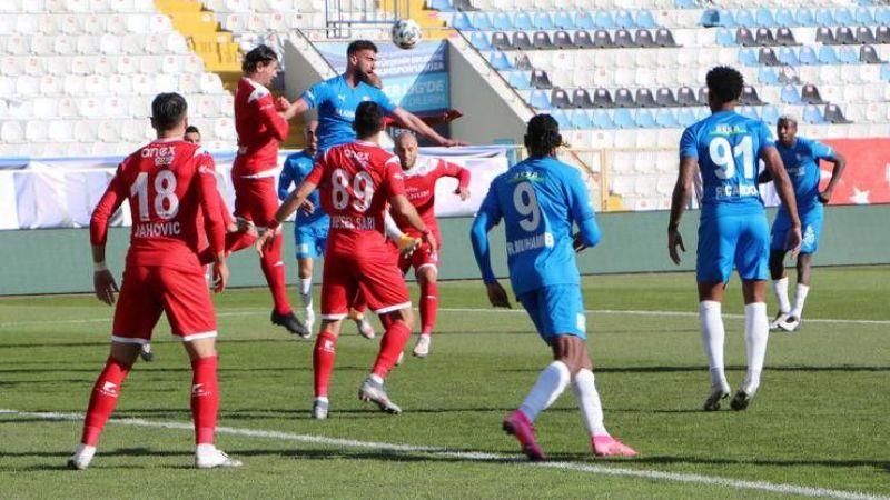 Müthiş maçta kazanan çıkmadı Erzurumspor - Antalyaspor: 2-2