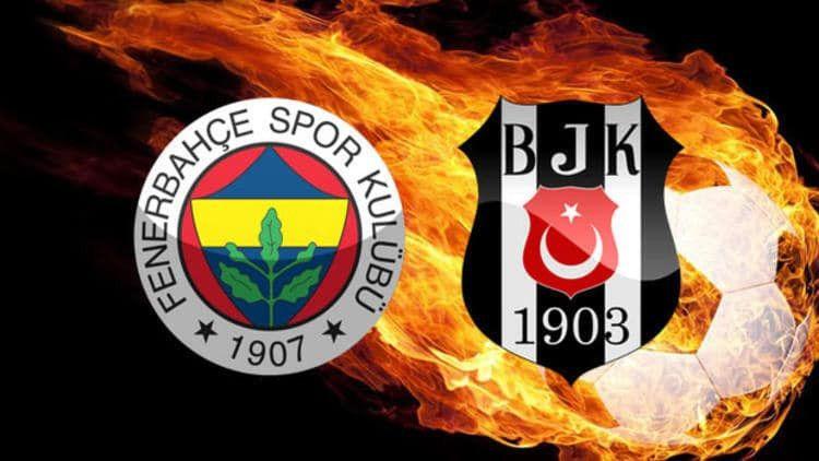 Dev maçta kadrolar belli oldu Fenerbahçe Beşiktaş 11'ler