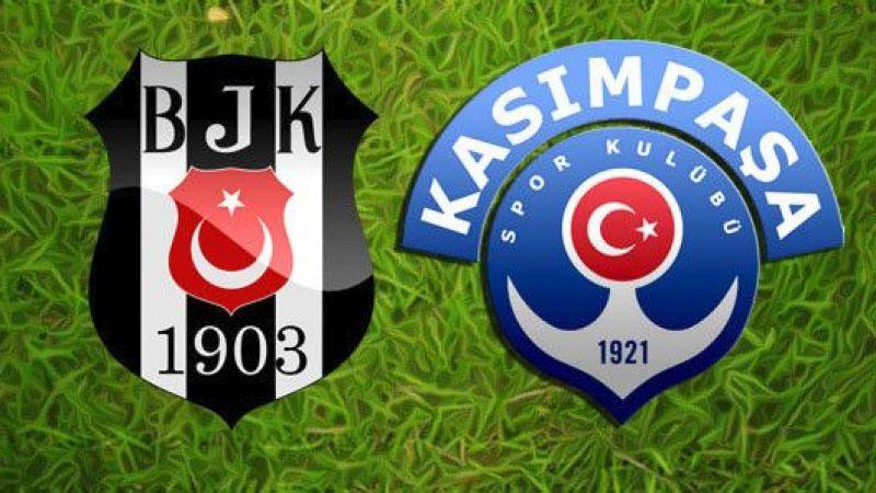 Hafta Vodafone Park'ta açılıyor Beşiktaş-Kasımpaşa