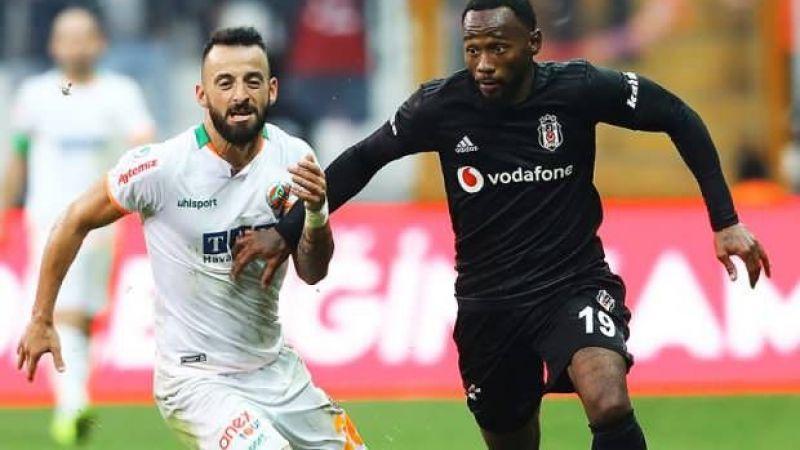 Zorlu maçta 11'ler belli oldu Alanyaspor- Beşiktaş