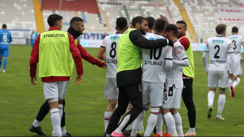 Erzurumspor'a Hüseyin Çimşir'de çare olamadı BB Erzurumspor 0-1 Gençlerbirliği