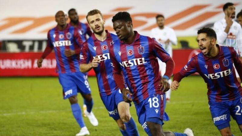 Karadeniz derbisinde 3 puan Trabzonspor'un