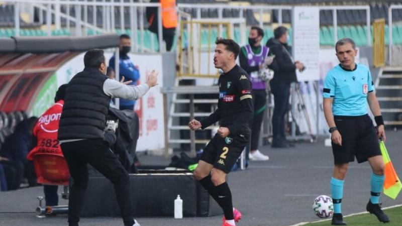 Denizlispor'dan lidere geçit yok Denizlispor - Alanyaspor: 1-0