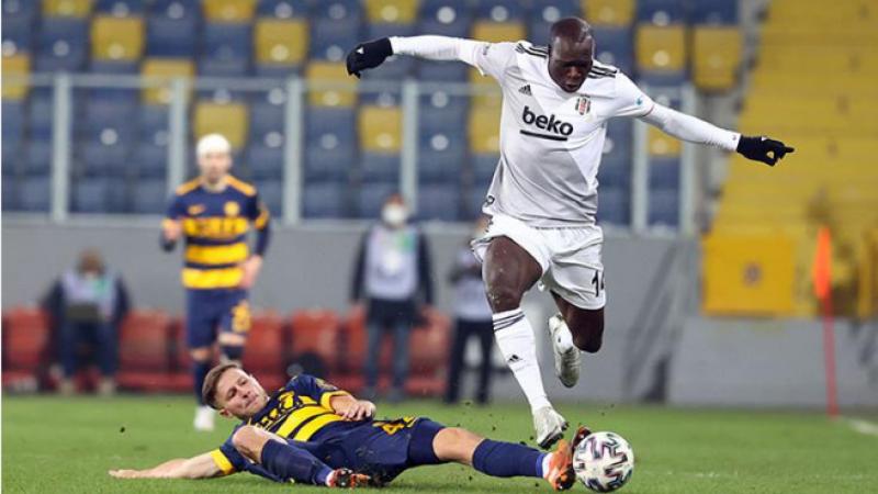 Beşiktaş başkent deplasmanında tek attı üç aldı
