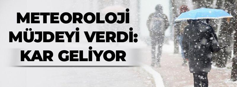 Meteorolojiden kar müjdesi geldi! İstanbul'a ne zaman kar yağacak?