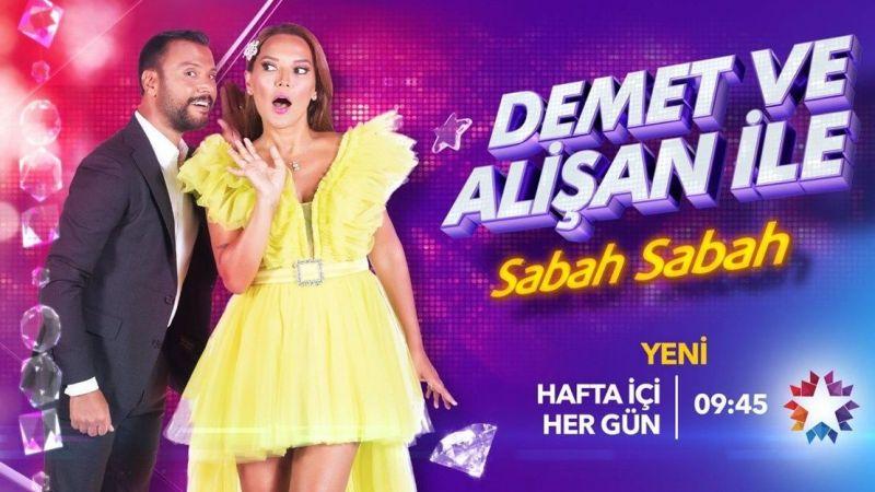 Star TV Demet ve Alişan ile Sabah Sabah 4 Ocak bugünkü konukları kim?