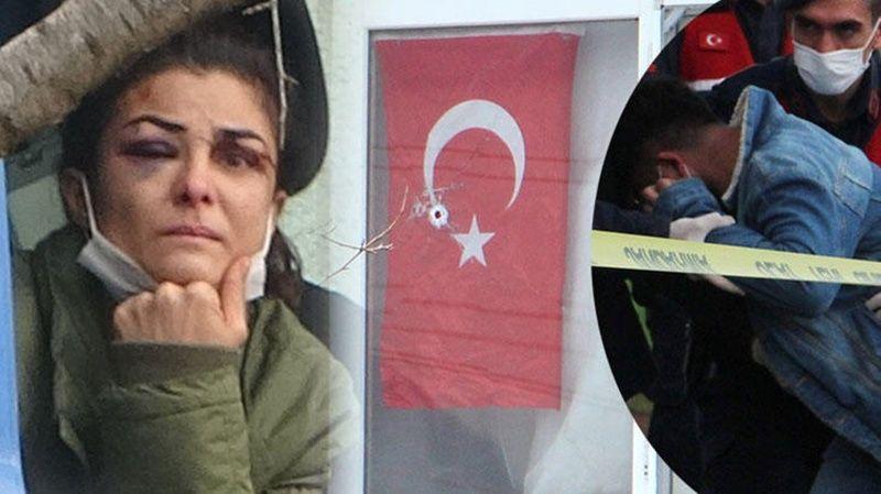 Antalya Kendisine Şiddet Uygulayan Eşini Öldüren Kadın