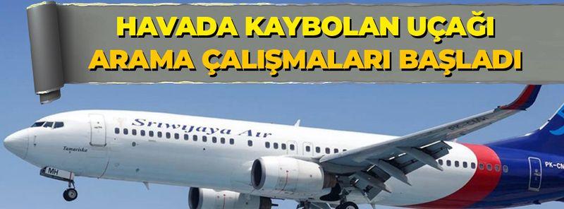 Endonezya'da havada kaybolan yolcu uçağını arama çalışmaları başladı