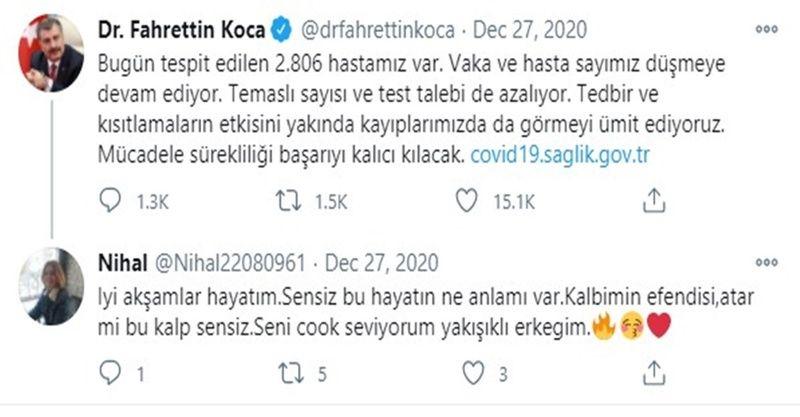 Twitter bunu konuşuyor: Nihal hanım kim, Fahrettin Koca ile ne ilgisi var?