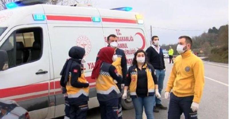 Beykoz'da helikopter mi düştü? Bölgeye ekipler sevk edildi