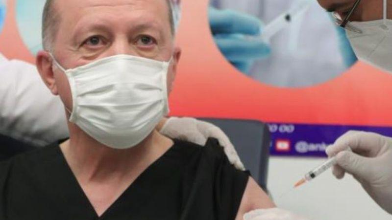 Cumhurbaşkanı Erdoğan Koronavirüs Aşısı