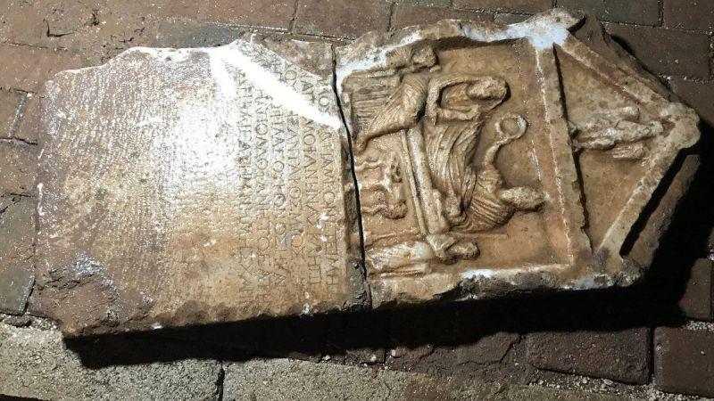 Bursa'da ilginç olay! İnşaat kazısını izlerken tarihi eser buldu!